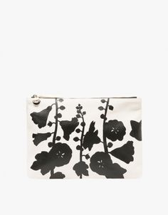 Shopping Selection : Flat Clutch in Cream Goat