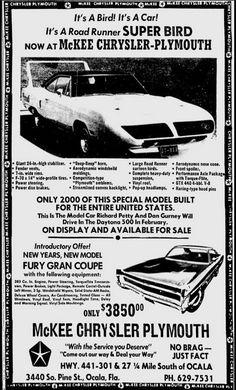 Chrysler-Plymouth Ad