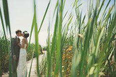 Playful Country Island Wedding: Kate + Aaron