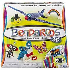 Bendaroos 3D, 500 Piece Multi Maker Set - Just $11.18! - http://www.pinchingyourpennies.com/207816-2/ #Amazon, #Bendaroos
