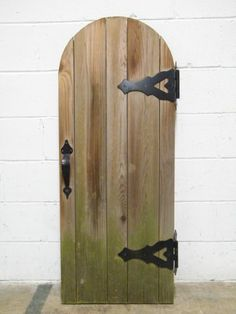 Columbus Architectural Salvage - Salvaged Cedar Playhouse Door