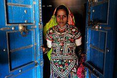 Meghwal Girl (Leonid Plotkin) Tags: woman india girl asia tribal tradition tribe ethnic gujarat tradtional kutch janan harijan meghwal megwal katchchh