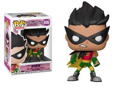 Teen Titans Go: Night Begins to Shine Robin Vinyl Figure - The Night Begins to Shine from Teen Titans Go! is coming to Pop! The Teen Titans Go! original song is lip-synced by Cyborg . Funko Pop Marvel, Pop Vinyl Figures, Funk Pop, Night Begins To Shine, Teen Titans Go Robin, Funko Pop Dolls, Pop Toys, Pop Characters, Funko Pop Figures