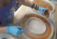 This might be my most favorite glitter project of all time (at least for today!) We were searching for fun molds to do glitter/epoxy in and Keena found a toilet seat mold and we just had to give it. Diy Resin Art, Diy Resin Crafts, Glitter Toilet Seat, Diy Resin Toilet Seat, Alcohol Dispenser, Glitter Projects, Diy Furniture Renovation, Gothic Furniture, Design Your Dream House
