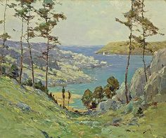 Paintings by Chauncey Foster Ryder (1868 - 1949)