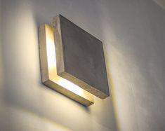 Simple Modern Box Lamp Minimalist Lighting Wood Wooden Square
