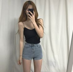Girls Fashion Clothes, Teen Fashion Outfits, Cute Fashion, Girl Outfits, Cute Outfits, Korean Girl Fashion, Ulzzang Fashion, Korea Fashion, Korean Outfit Street Styles