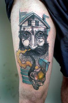 Tatuagens geométricas por Peter Aurisch | Criatives | Blog Design, Inspirações, Tutoriais, Web Design