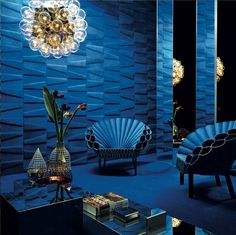 Rubelli announced the launch of Studioart, dedicated to the application of highly refined leather to interiors, at their London showroom during the March 2014 Design Week.