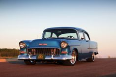 Classic Cars And Women Chevrolet Bel Air, 1955 Chevrolet, 1955 Chevy, Old Cars, Custom Cars, Corvette, Muscle Cars, Classic Cars, Trucks
