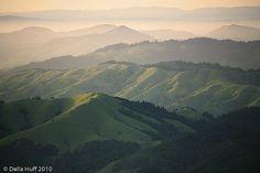 West Marin hills.