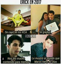 un buen año para él, ¿ Como será 2018 ? Memes Cnco, Funny Memes, Hilarious, 7 Prince, Prince Royce, Love You, My Love, Pretty Boys, Boy Bands