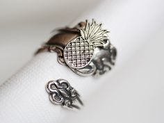 Antique Spoon Ring, Jewelry Gift, Silver Pineapple Ring, Silver Spoon Ring,Antique Ring,Silver Ring,Wrapped,Adjustable,Bridesmaid. by emmalocketshop on Etsy https://www.etsy.com/listing/150764395/antique-spoon-ring-jewelry-gift-silver