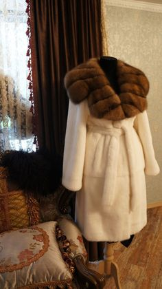 mink & sable fur coat