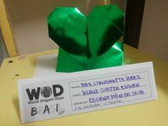 Mossoró, 3 de Novembro de 2014. 6° desafio: dobrar um coração.