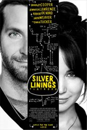 Silver Linings Playbook---Great movie both actors had part that could easily been horrible but they played them perfectly. I love this movie! So cute <3