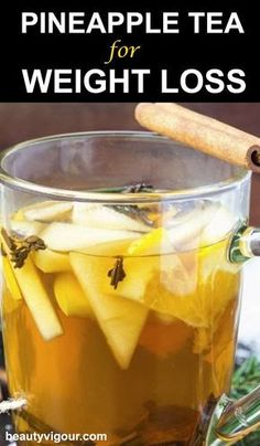 Liver Cleanse Detox - Very few people may have heard about Pineapple Tea. So here is a pineapple tea for weight loss and is quite delicious. Read on. Weight Loss Tea, Quick Weight Loss Tips, Weight Loss Drinks, How To Lose Weight Fast, Weight Gain, Losing Weight, Weight Control, Reduce Weight, Healthy Detox