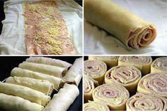 O Rondelli com Massa de Pastel é uma opção prática e deliciosa para o almoço em família. Faça e receba muitos elogios! Veja Também:Canelone Prático Veja T