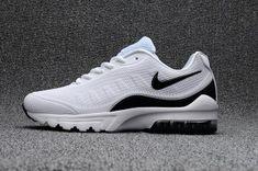 e6d8964c48af59 Mens Nike Air Max 95 OG Kpu White Black 624519 100 Shoes Sport swear