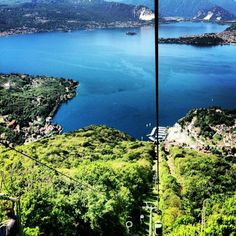 Hotel Funivia Laveno Mombello Offering panoramic views of Lake Maggiore, this unique hotel and restaurant is reached by cable car from the small town of Laveno-Mombello. Its bright rooms include a lake-view balcony. Parking is free.
