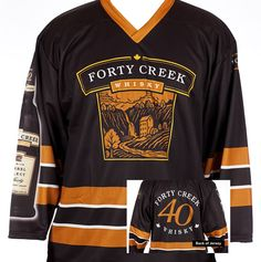 Well next time make sure you've got your Forty Creek jersey on to complete the full experience. Hockey, Black, Black People, Field Hockey, Ice Hockey