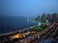 Mersin city in Turkey...