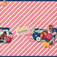 """Le blog de Scrapbxl: """"Sister"""" mini Kit de Keep In Touch Designs"""