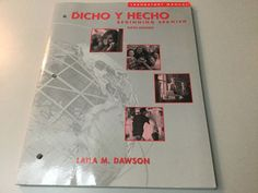 DICHO Y HECHO BEGINNING SPANISH LABORATORY MANUAL 6TH ED #LaboratoryManual