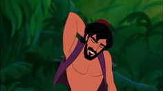 Aladdin's beard is the ultimate magic carpet ride. | These Disney Men With Beards Will Awaken Your Inner Thirst