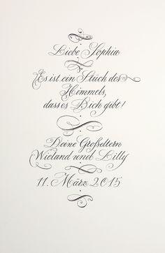 Glückwunsch zur Geburt eines Enkelkindes. #Taufe #Geburt #Taufspruch #Kalligrafie #Handlettering