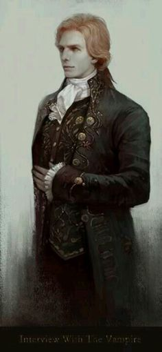 """Vampires...the character """"Lestat"""" in the Anne Rice series, he is a personal favorite of mine ;)                                                                                                                                                      Mais"""