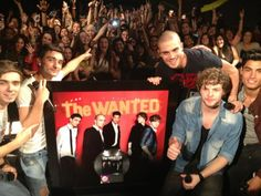 the wanted goes platinum with glad you came in the states. UPDATE:they have now gone double platinum in the US. 2,000,000 sales and counting!!!!!!!