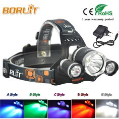 Beautiful Boruit Mini Led Headlamp Flashlight 5 Modes Portable Headlights Waterproof Outdoor Tactical Camping Hunting Head Torch Light Portable Lighting Lights & Lighting