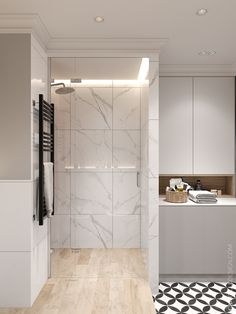 Prime Life on Behance – Badezimmer einrichtung Bathroom Interior Design, Home Interior, Interior Design Living Room, Interior Decorating, Bathroom Inspo, Bathroom Inspiration, Bathroom Ideas, Small Bathroom, Master Bathroom
