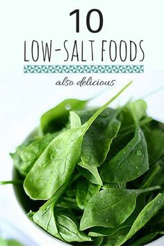 According to the National Institutes of Health, a diet of nutrient-rich, low-sodium foods has been s High Blood Pressure Diet, Natural Blood Pressure, Healthy Blood Pressure, Lowering Blood Pressure Naturally, Low Salt Recipes, Low Sodium Recipes, Diet Recipes, Low Salt Meals, Kidney Recipes