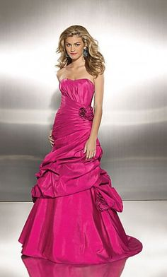 Homecoming Dresses#Quinceanera Dresses#Strapless #Natural Dress# Satin Long Dress