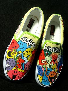 Mr Men and Little Miss Shoes 3 by ~damndirtyangel on deviantART