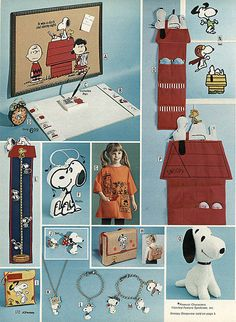 1974-xx-xx JCPenney Christmas Catalog P172 - Peanuts