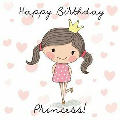 Happy Birthday Girl Quotes Cute Wishes Princess
