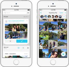 Facebook lanza una app modificada de Moments en Europa