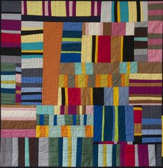 Two exhibitions at the San Jose Museum of Quilts & Textiles -- one focusing on Amish quilts made from the 1880s through the 1940s, and the other on recent creations by members of three Bay Area quilting guilds -- illustrate how today's quilters are building upon, and modifying, tradition.