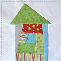 wonky house quilt block tutorial jacquelynne steves