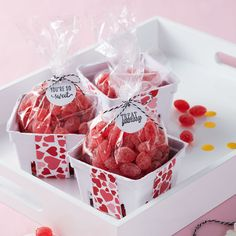 Make this easy Valentine's Day Berry Basket to hold a treat for your sweet!