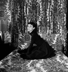 Timeless Audrey by Cecil Beaton, 1954