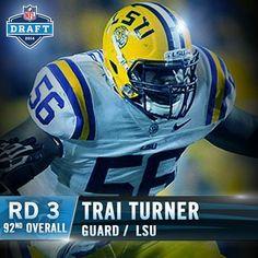 LIMITED Carolina Panthers Trai Turner Jerseys