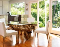 15 Ideas for Natural Modern Dining Rooms