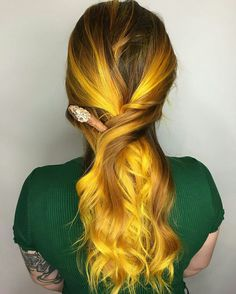 Vibrant Fall Haircolor