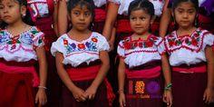 Girls of Teotitlan del Valle, Oaxaca