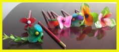 pencil topper decoration craft