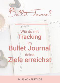 Neben der Zeitplanung im Bullet Journal ist Tracking ein bedeutender Bestandteil. Vor allem für Routineaufgaben und Ziele ist Tracking eine große Hilfe. Bullet Journal Tracking, Bullet Journal School, Bullet Journal Layout, Bullet Journal Inspiration, Journal Ideas, Routine, Organisation Hacks, Happy Planner, Bujo